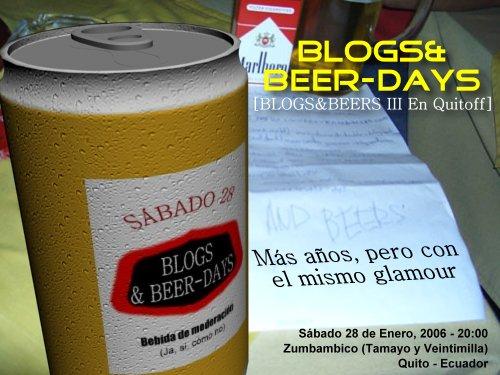 Blogs&Beer-days