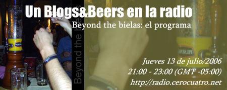 Beyond the bielas, el programa