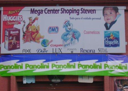 Mega center shopping Steven