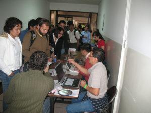 Registro #barcampquito09