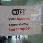 Wifi #barcampquito09